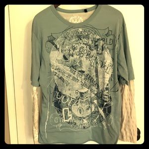 Drifters industries long sleeve T shirt size xxl